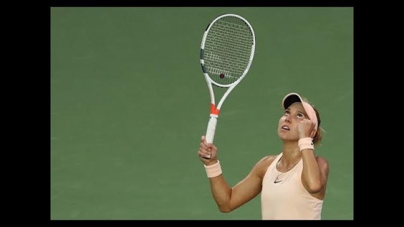 2018 Dubai Second Round Elena Vesnina vs Jelena Ostapenko WTA Highlights