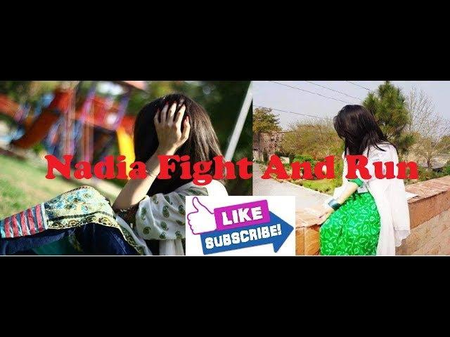 Fight And Run | Nadia VS Vandam Full Comedy [Pashto] Funny 2017