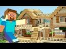 СТРОЮ СВОЙ ПЕРВЫЙ ДОМ в МАЙНКРАФТ ВЫЖИВАНИЕ!! (Minecraft 5)