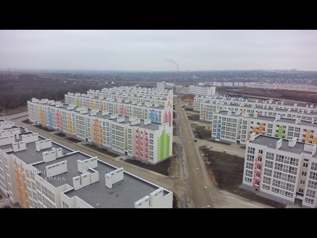 Кошелев проект / 20 и 24 очередь / новая школа и садик Самара Samara