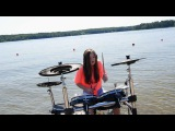 Hymn For The Weekend (Alan Walker vs Coldplay) - Drum Film Cover by TheKays