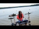 Hymn For The Weekend Alan Walker vs Coldplay - Drum Film Cover by TheKays