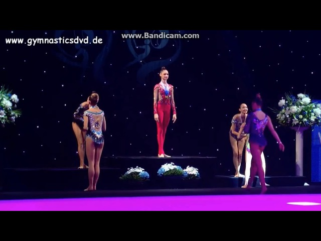 Award Ceremony - Individual (All Around) Miss Valentine Cup 2018