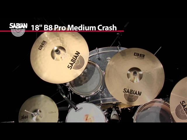 SABIAN 18 B8 Pro Medium Crash