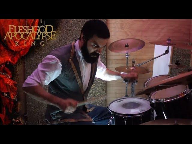 And the vulture beholds - Fleshgod Apocalypse - Franco Almeida drum cover