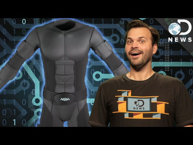 This Virtual Reality Suit Lets You Experience Touch