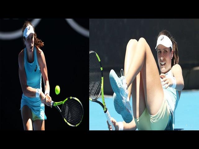 Australian Open 2018 Johanna Konta stunned in the second round by Bernarda Pera
