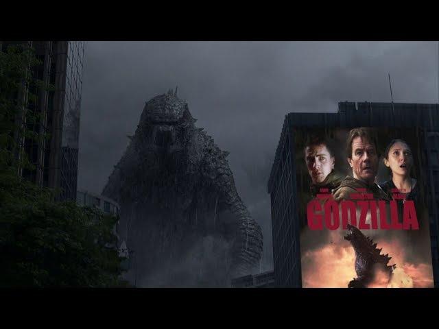 Chamada do filme Godzilla em Temperatura Máxima (22/10/2017)