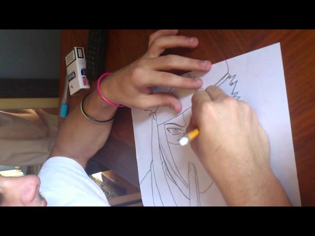 Naruto Shippuden: Zabuza Momochi Speed Drawing