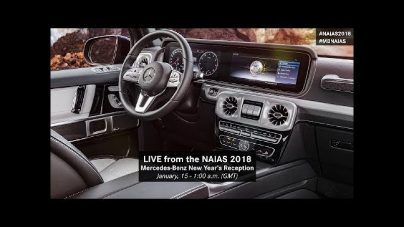 World premiere of the new G-Class: the legend remains true to itself