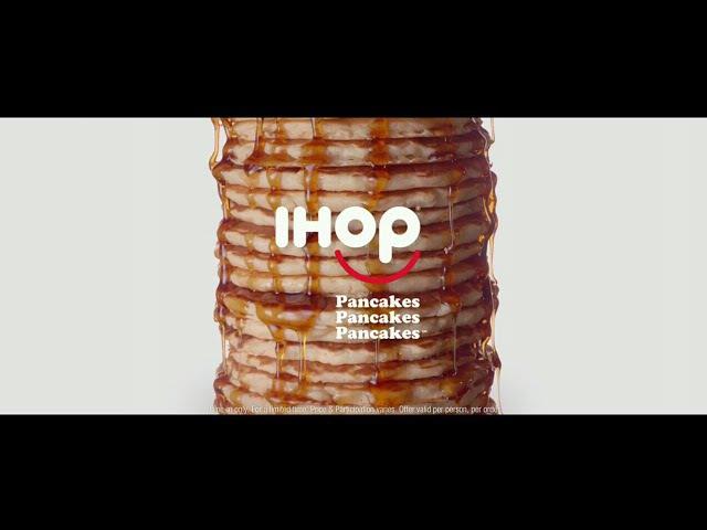 Реклама ресторана IHOP (США) Блины, блины, блины