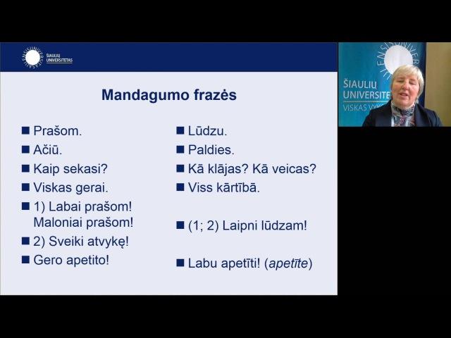 Lietuvių ir latvių kalbų paralelės