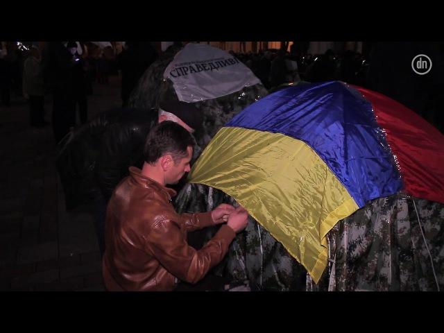 Киев: у Рады появился палаточный лагерь оппозиции