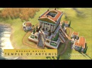 Civilization VI: Rise and Fall - Temple of Artemis (Wonder Movies)