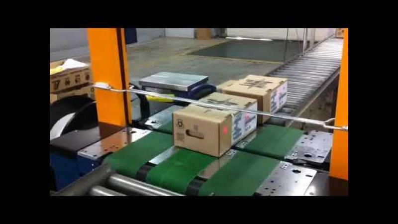 Reisopack: моторизованный упаковочный стол серия AT1904EA