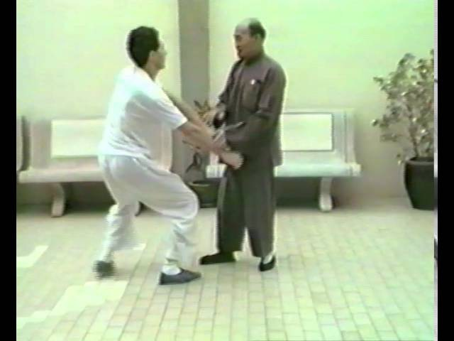 Grandmaster Huang Sheng Shyan with student » Freewka.com - Смотреть онлайн в хорощем качестве