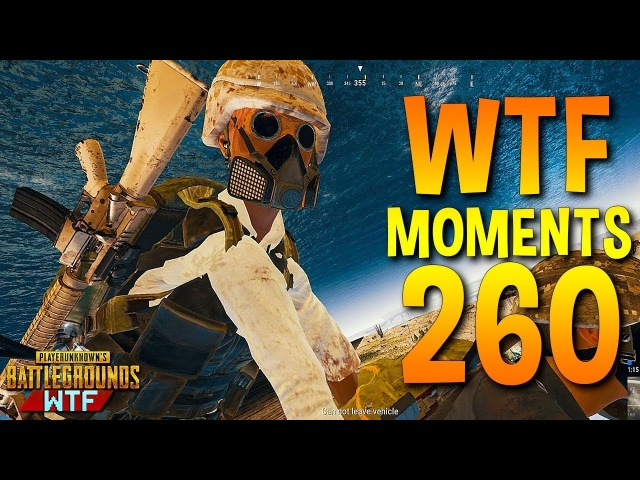 PUBG Daily Funny WTF Moments Highlights Ep 260