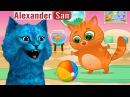 Суровый КОТИК БУБУ 9 БУБУ ставит НОВЫЕ РЕКОРДЫ Мультик ИГРА про котят на AlexanderSan