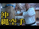 ワオ!沖縄空手に木人拳が!!東恩納盛男の稽古が凄いMorio Higaonna of Okinawa Goju ryu Karate