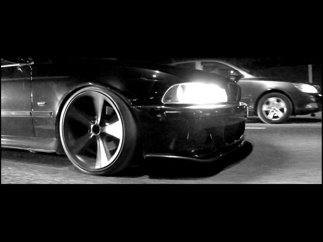 BMW E39 Black Devil Low and Fast ThroWBack Media