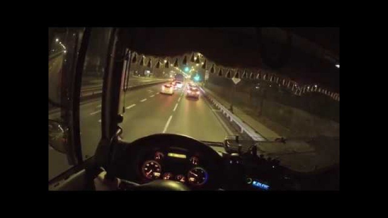 Truck Driving DAF XF105.460 (From the first person)
