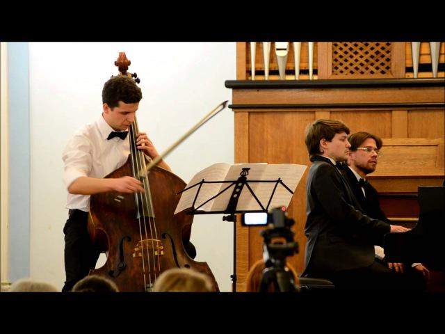 Vilmos Montag - sonata for double-bass piano (I)