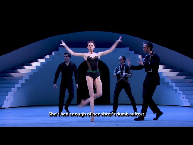 Большой балет в кино Укрощение строптивой часть 1 Bolshoi Ballet in cinema The Taming of the Shrew part1