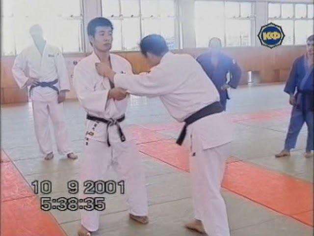 №11 O-SOTO-GARI ХиротакоОкадо Дзюдо в Японии техника бросков