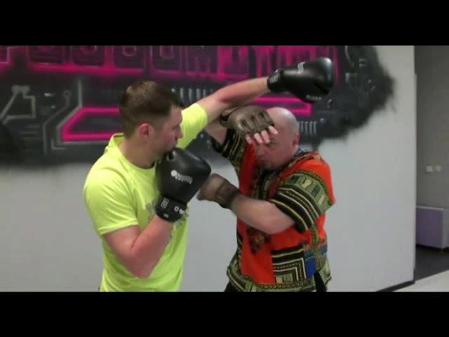 Уроки Panantukan - RAPT от А. Плаксина - защиты от боксерских ударов типа хук