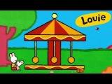 Karussell - Louie, mal mir ein Karussell Lebendige bildungs malen f