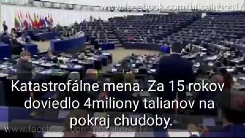 Hrica Lubos - Debakel v európskom parlamente.Ako keby mi...(1)