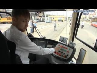 05.06.2018г. «Горэлектротранс» показал, как добираться до «Санкт-Петербург Арены» на трамвае