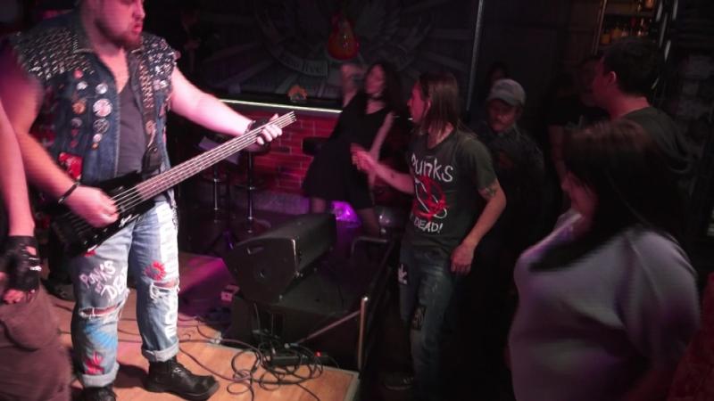 Группа Кадры cover гр Король и Шут рок клуб Machine Head Танец злобного гения
