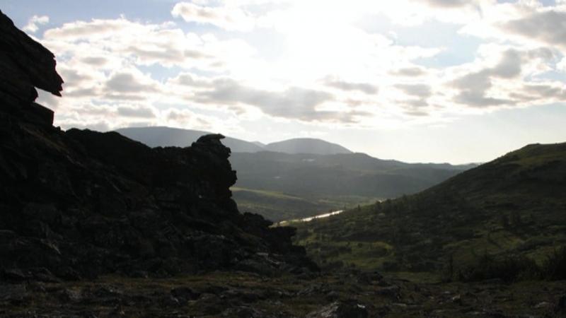 Полярный Урал-река Хараматалоу, озеро Пайти-ты