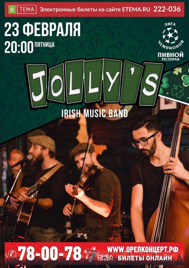 Jolly's Irish music band