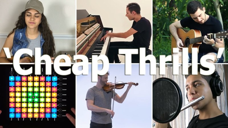 Who Played It Better: Cheap Thrills (Piano, Guitar, Ukulele, Flute, Launchpad, Violin)