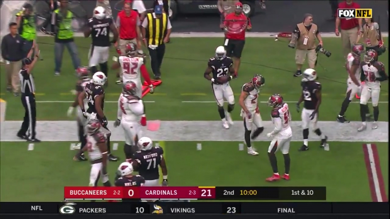 Adrian Petersons 1st Game in a Cardinals Jersey! _ Bucs vs. Cardinals _ Wk 6 Player Highlights