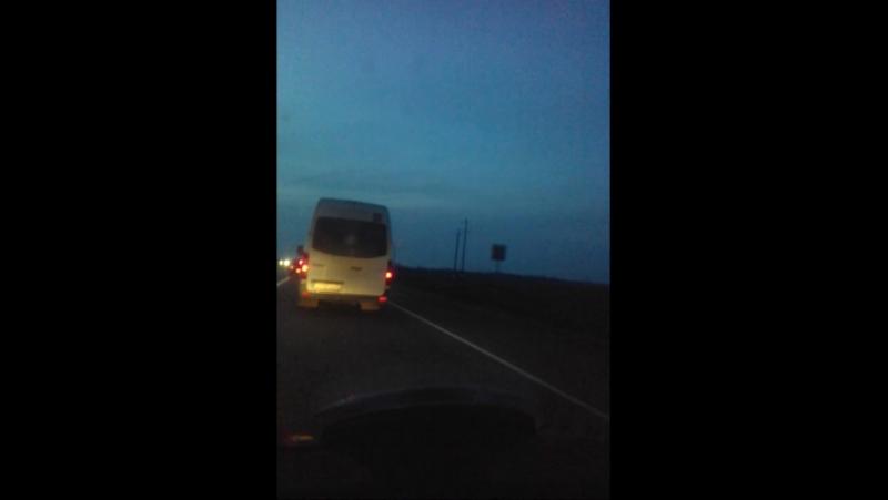 Дорога из Белореченская в Краснодар!