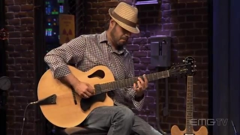Nate Lopez performs Georgia On My Mind for EMGtv (1)