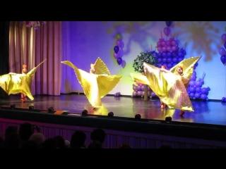 Разноцветная весна-2018, детский сад № 9: Танец Жар-птиц, 18 апреля, ДК Строитель