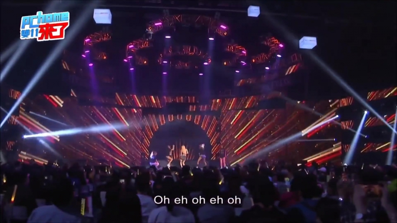 《60FPS》HyunA (현아) - BABE (베베) Red (빨개요) Roll Deep (잘나가서 그래) Bubble Pop (버블 팝) 1080p Live