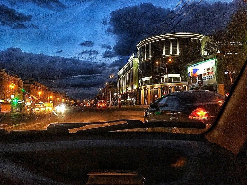 Ночной Кемерово