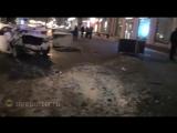 На проспекте Мира на северо-востоке Москвы столкнулись два автомобиля