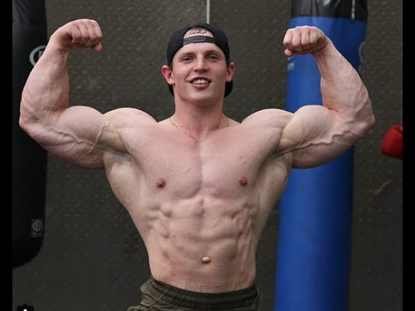 20 Years Old Insanely Built Muscular Bodybuilder