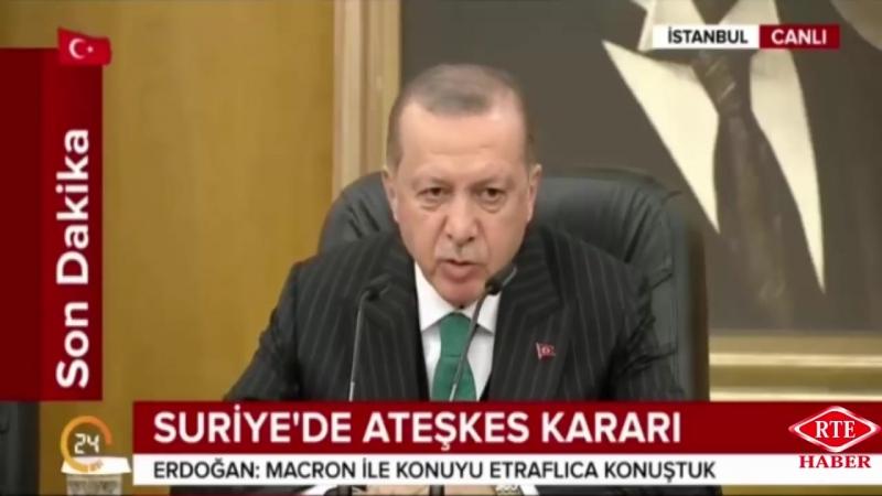 Cumhurbaşkanı Recep Tayyip Erdoğan, Cezayir'e Hareket Basın Toplantısı 26 Şubat 2018