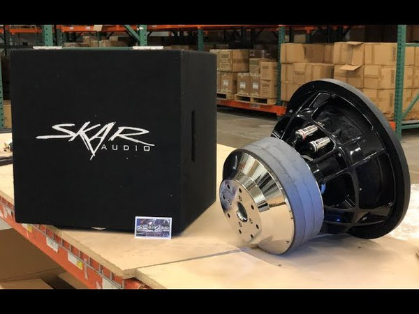 SKAR AUDIO DNR 5000W RMS MONSTER UNBOXING / TOUR!