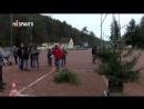 Campeonato mundial de lanzamiento de árboles de Navidad en Alemania