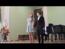 дуэт Пепитты и Микки из оп Вольный ветер поют Алина Малышева и Матвей Кравчук