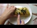 Потрясающе вкусный омлет, пошаговый рецепт