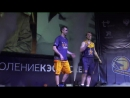 Суперфинал Чемпионата ШБЛ «КЭС-БАСКЕТ» - представление актеров фильма Движение вверх 21.04.2018